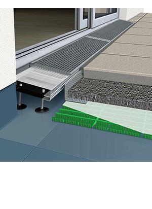 Relativ Barrierefrei | Übergänge zu Balkon und Terrasse ohne Stolperfalle GP74